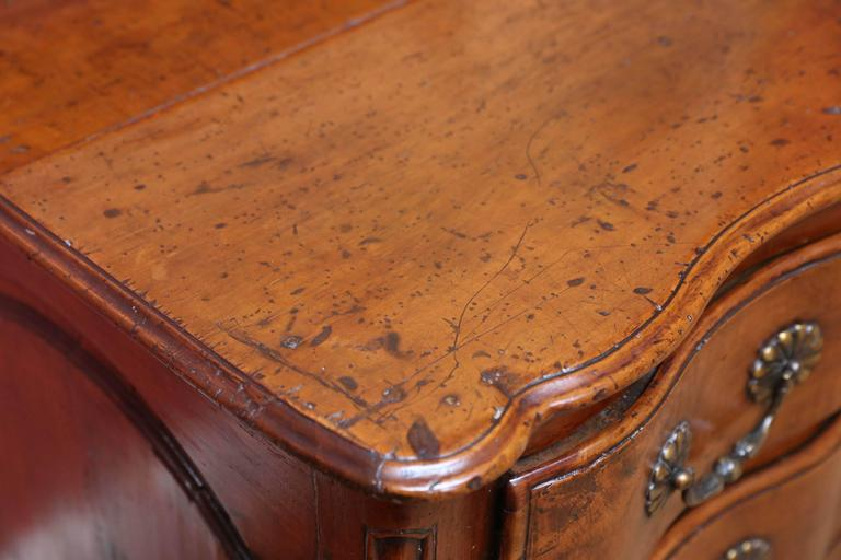 French 18th Century Walnut Commode For Sale