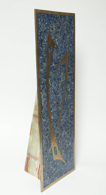 Mid Century Modern Abstract Sigi Pineda Sculpture Mosaic