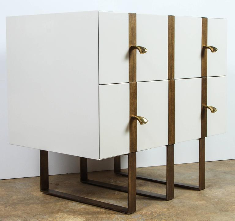 Paul Marra Two-Drawer Banded Chest 7