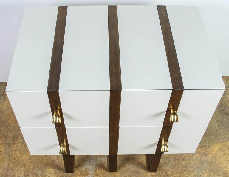 Paul Marra Two-Drawer Banded Chest 10