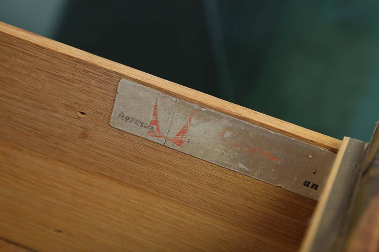 American George Nelson Rosewood Thin Edge Dressers For Sale