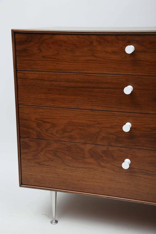 Mid-20th Century George Nelson Rosewood Thin Edge Dressers For Sale