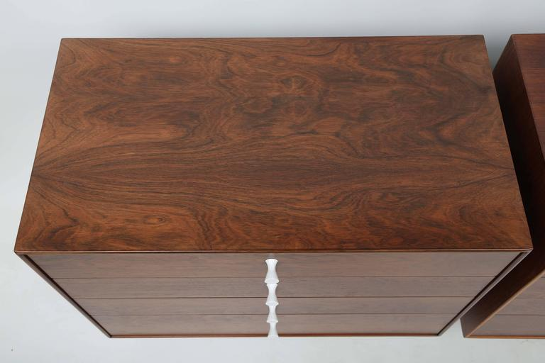 George Nelson Rosewood Thin Edge Dressers For Sale 1