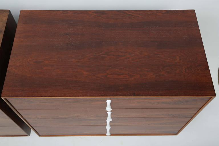 George Nelson Rosewood Thin Edge Dressers For Sale 2