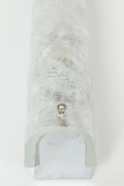 Kaiser Ice Glass Sconces For Sale 1