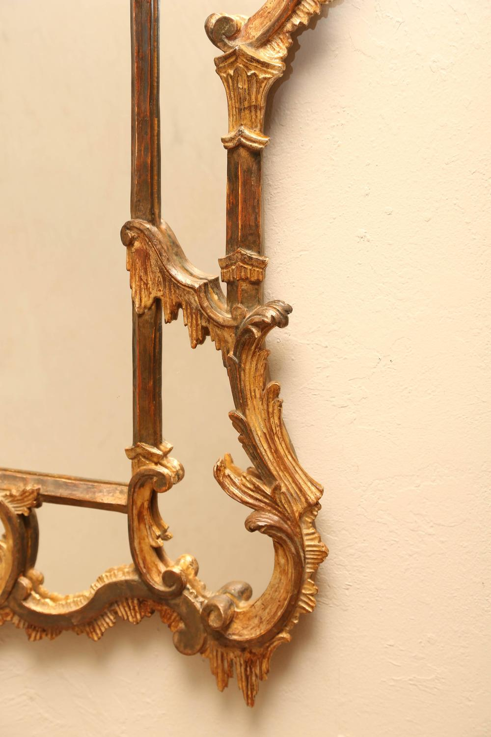 Vintage Chinoiserie Pagoda Mirror For Sale At 1stdibs