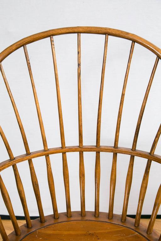 Knuckle Arm Windsor Chair 3