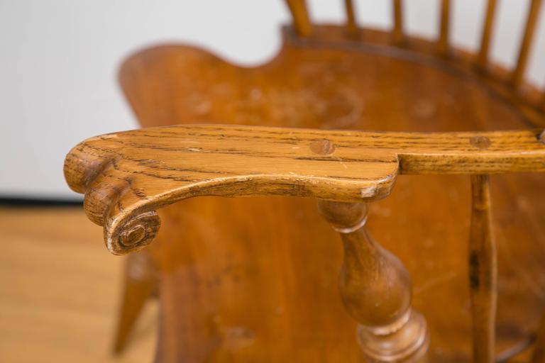 Knuckle Arm Windsor Chair 8