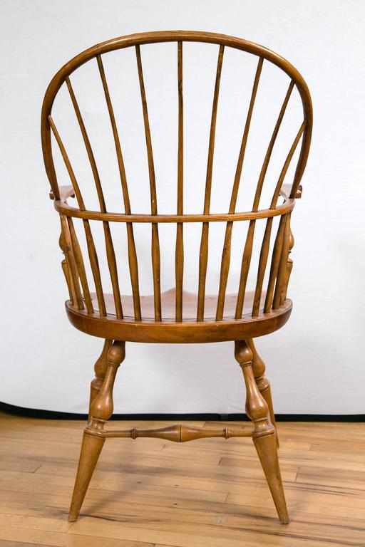 Knuckle Arm Windsor Chair 10