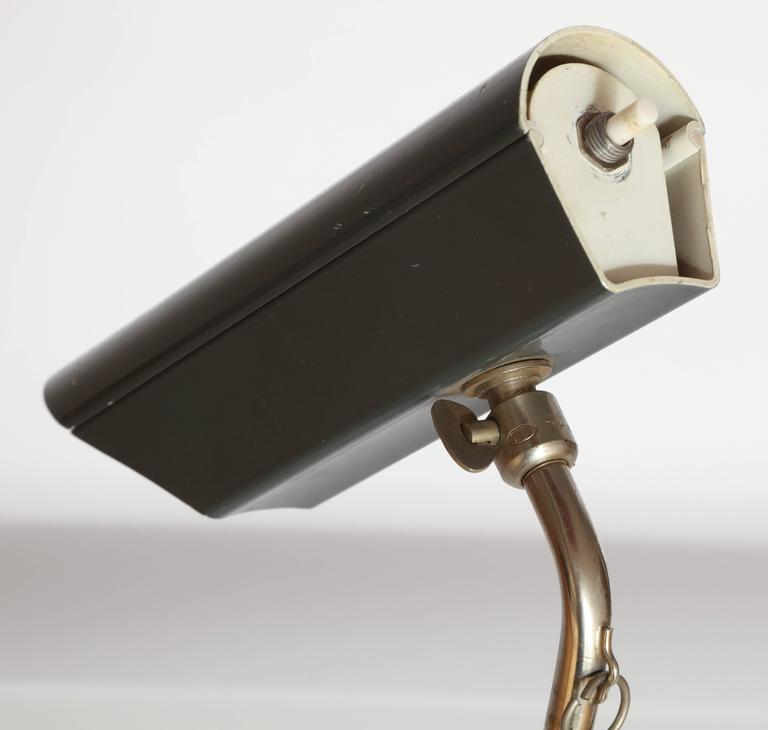 Articulated Counter Balance Table Lamp Sits on Edge of Table, France, 1950s For Sale 1