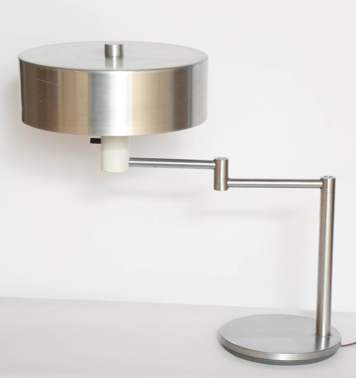 Mid-20th Century Walter Von Nessen 1930's, American Modern Articulated Table Lamp For Sale