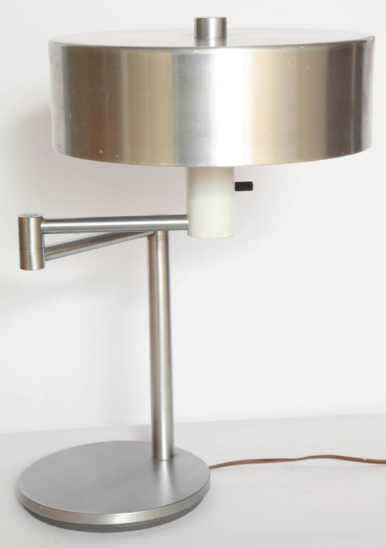 Walter Von Nessen 1930's, American Modern Articulated Table Lamp For Sale 1