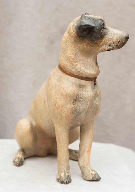 Austrian Terracotta Jack Russell Terrier In Excellent Condition For Sale In San Francisco, CA