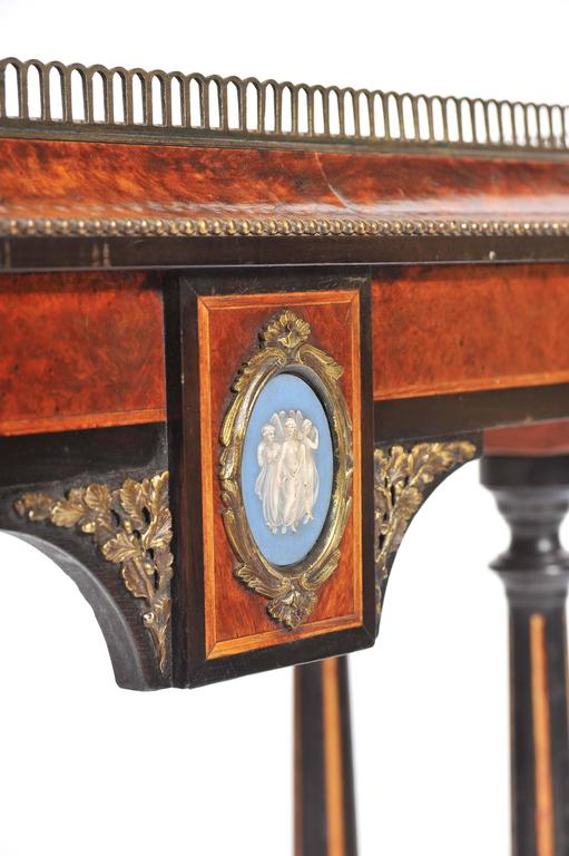 Hand-Painted 19th Century Jardiniere For Sale