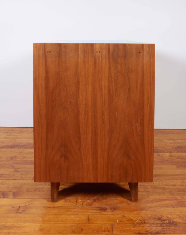 George Nelson Two-Door Walnut Cabinet for Herman Miller For Sale 1
