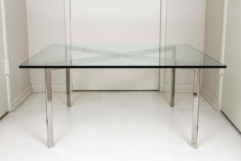 knoll barcelona table i for sale at 1stdibs. Black Bedroom Furniture Sets. Home Design Ideas