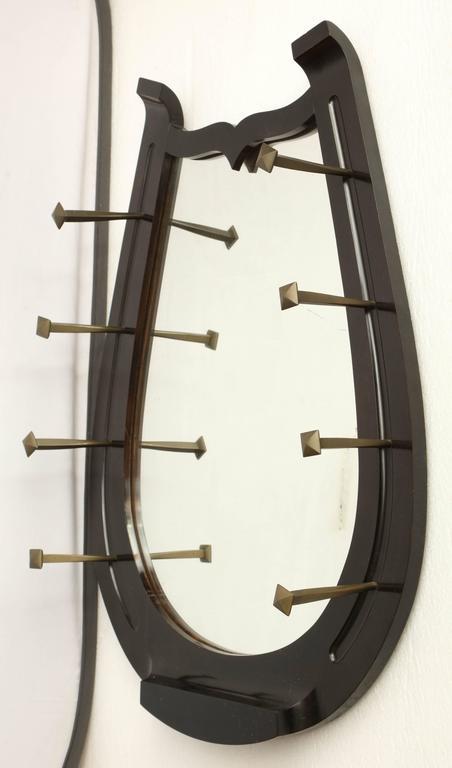 unusual horseshoe mirror at 1stdibs unusual english convex mirror for sale at 1stdibs