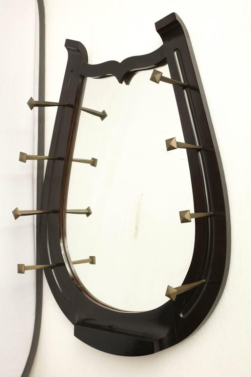 unusual horseshoe mirror at 1stdibs dioniso unusual mirrors design by ettore sottsass for