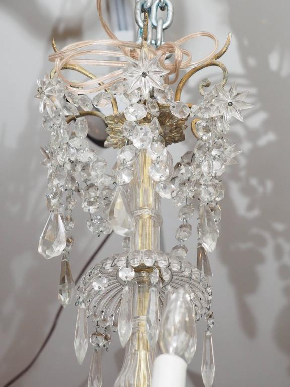 French napoleon iii gilt bronze and baccarat crystal chandelier for french napoleon iii gilt bronze and baccarat crystal chandelier with 18 lights this chandelier has aloadofball Choice Image