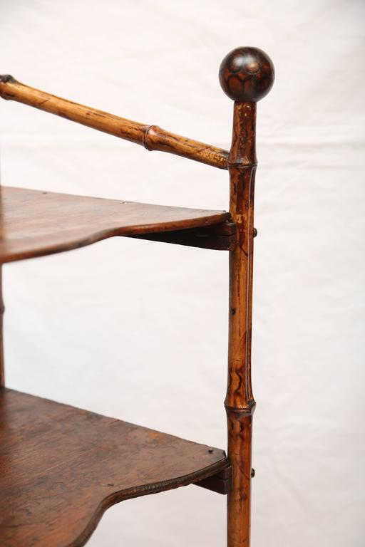 19th Century English Bamboo Book Stand 8