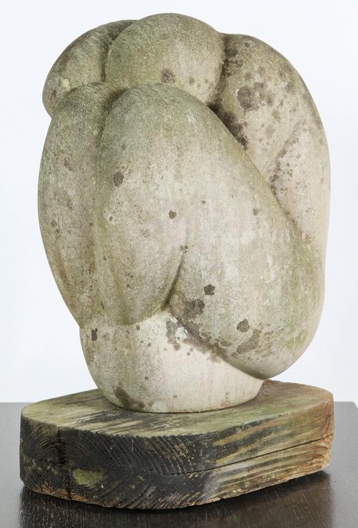 Mid-Century Figural Stone Sculpture 2