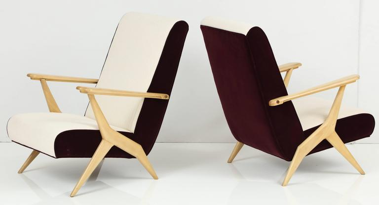 Carlo Mollino Attributed Armchairs 2
