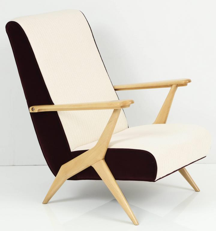 Carlo Mollino Attributed Armchairs 3