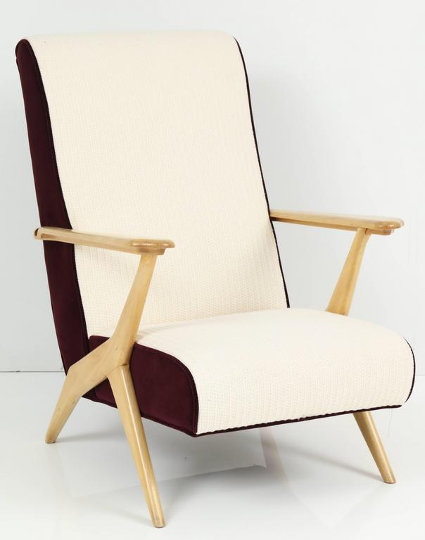 Carlo Mollino Attributed Armchairs 10