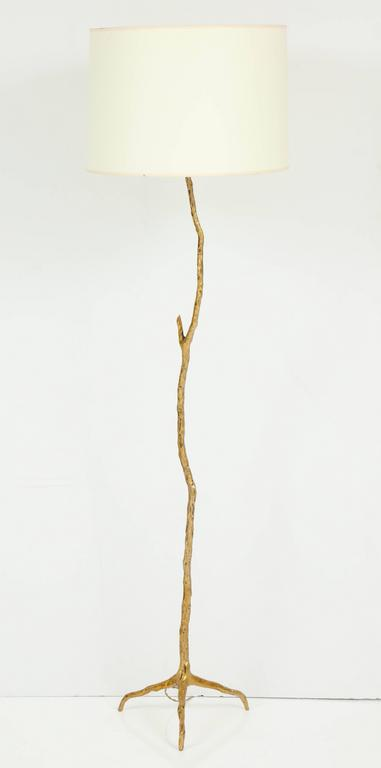 Metal Twig Floor Lamps : Pair of bronze maison arlus quot twig floor lamps for sale at