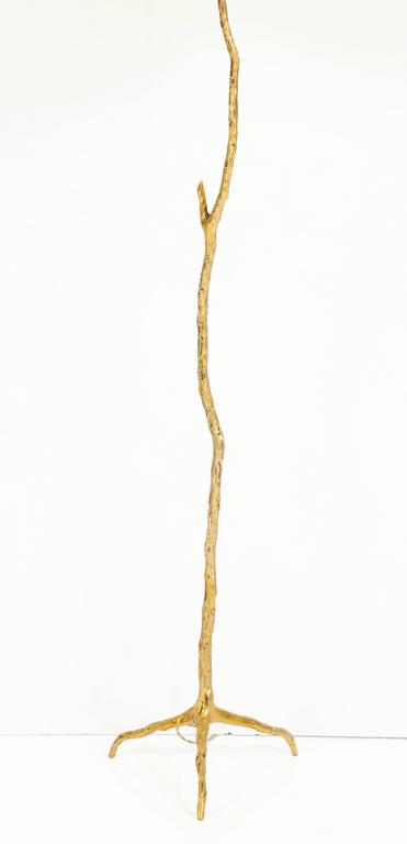 "Pair of Bronze Maison Arlus ""Twig"" Floor Lamps 3"
