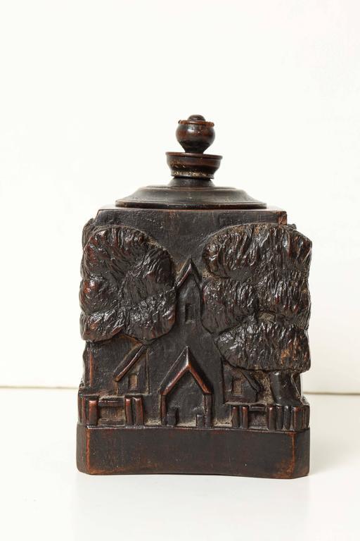 Unusual 18th Century Tobacco Jar, Possibly Irish 2
