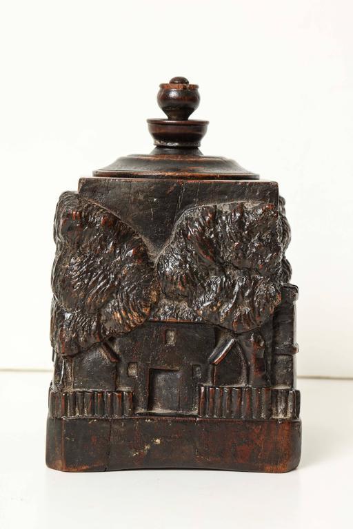 Unusual 18th Century Tobacco Jar, Possibly Irish 3