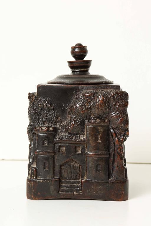 Unusual 18th Century Tobacco Jar, Possibly Irish 4