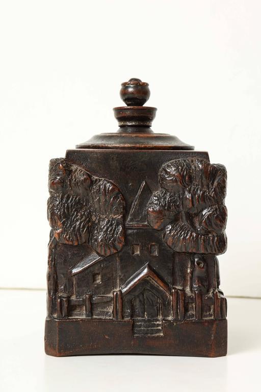 Unusual 18th Century Tobacco Jar, Possibly Irish 5