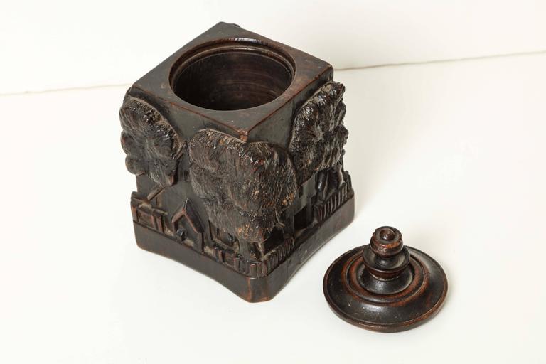 Unusual 18th Century Tobacco Jar, Possibly Irish 7