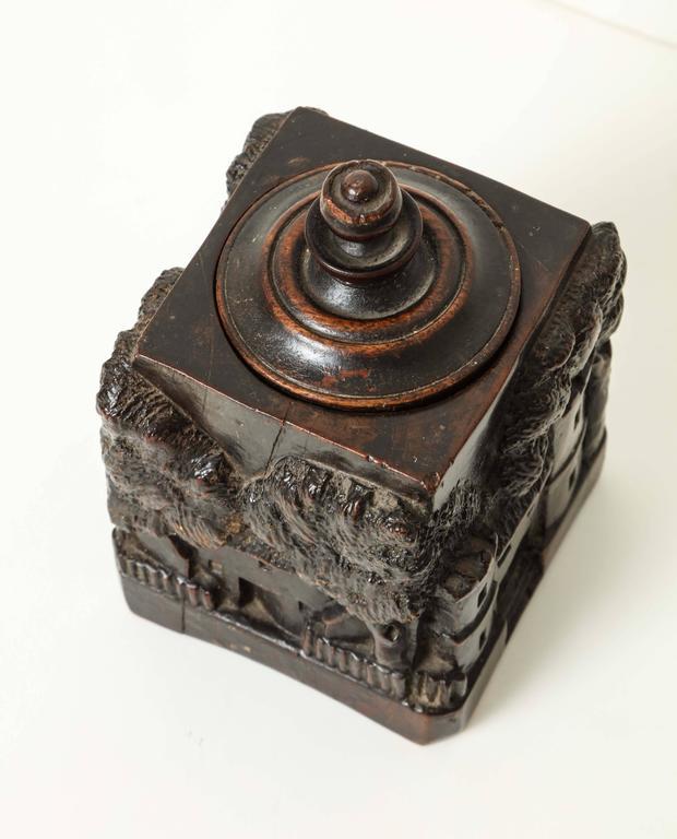 Unusual 18th Century Tobacco Jar, Possibly Irish 8