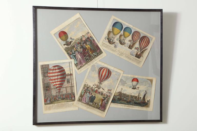 Early 19th Century Balloon Engravings 2