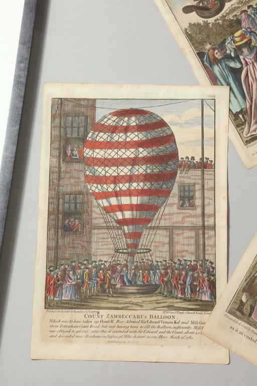 Early 19th Century Balloon Engravings 3