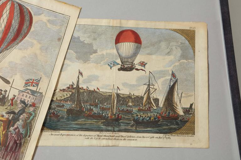 Early 19th Century Balloon Engravings 5