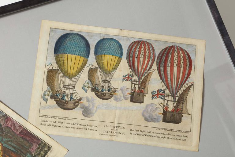 Early 19th Century Balloon Engravings 6