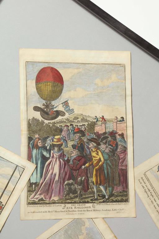Early 19th Century Balloon Engravings 7