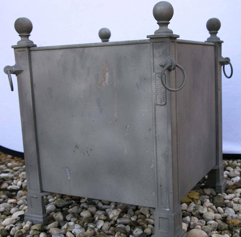 Versaille Gray Planter Boxes For Sale 1