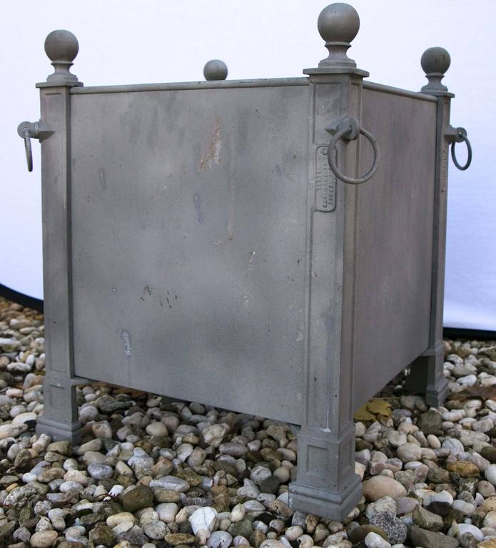 Versaille Gray Planter Boxes For Sale 3