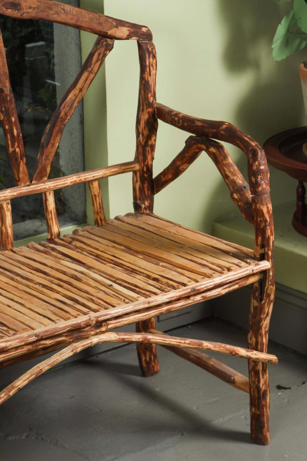 Rustic wooden bench from morocco for sale at 1stdibs Moroccan bench