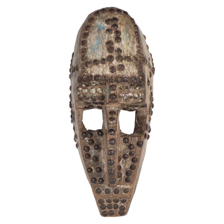 19th Century Marka Mask, Mali African Mask Authenticated ...