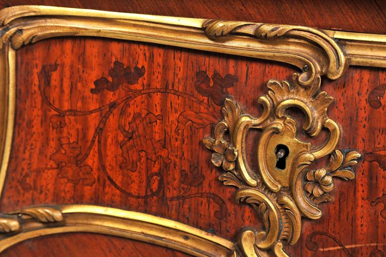 Fine Louis XV Style Bureau Plat by Zweiner For Sale 3