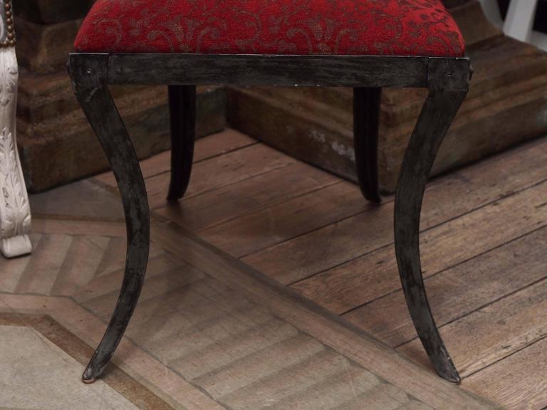 Set of Four Rare Klismos Dining Chairs 5