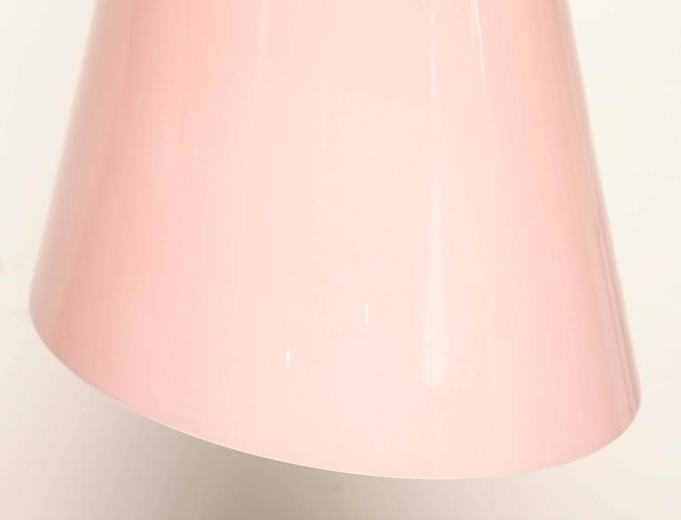 Mid-Century Modern Italian Murano Fontana Arte Glass Pendant Ceiling Lamp 2