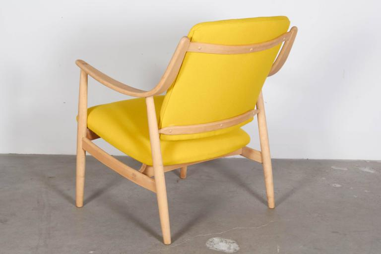 Mid Century Yellow Arm Chair by Torbjorn Afdal 5