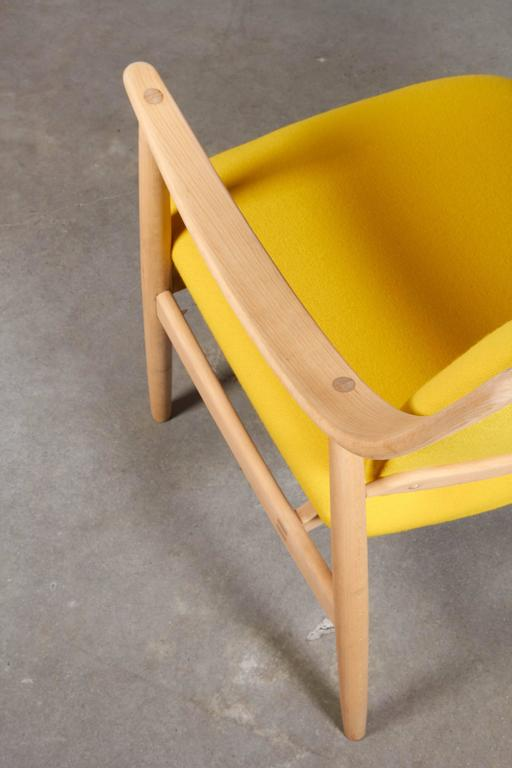 Mid Century Yellow Arm Chair by Torbjorn Afdal 7